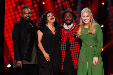 will.i.am The Voice Final Five And Their Coaches - Media Call