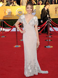 Who was best dressed at the 2012 SAG Awards?