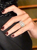 Which celebrity has the prettiest engagement ring?