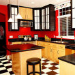 Red Kitchen Wall Color