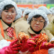 Housewives Make Korean Pickle Kimchi For The Needy - From zimbio.com