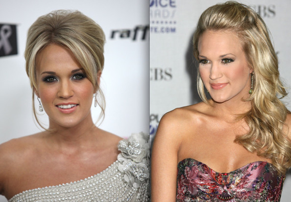 American Idol champ Carrie Underwood may have recently chopped all of her