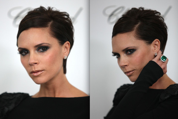 Short Prom Hairstyle Idea Victoria Beckhams Sleek And Chic