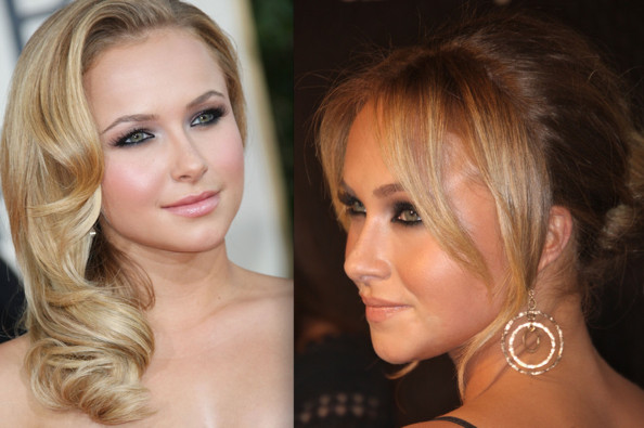 Admirable Hayden Panettiere Prom Hairstyle Ideas 2009 Celebrity Prom Short Hairstyles Gunalazisus