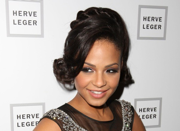 Black Prom Hairstyles for 2009 - Christina Milian - African American