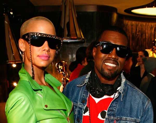 Amber Rose Costars in Kanye's Ads for Louis Vuitton ...