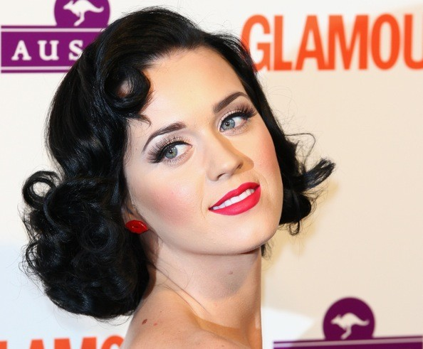 Here are some of Katy Perry's cutest retro-looking hairstyles.