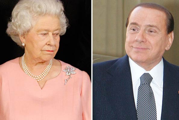 The Queen's Irritation at Italian PM a YouTube Hit - Queen Elizabeth