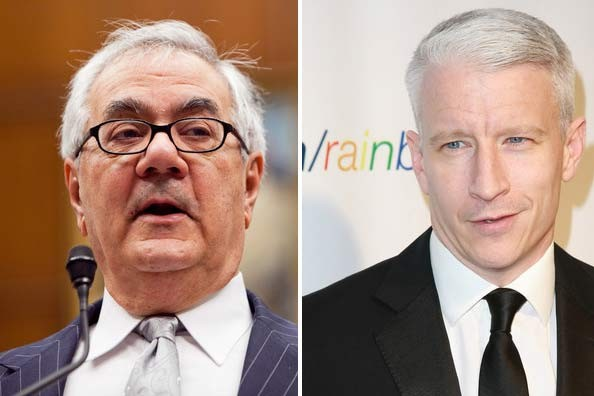 Barney Frank and Anderson Cooper both made Out.com's top 5 most influential ...