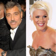Pink and George Clooney