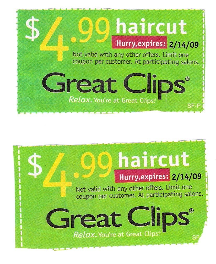 graphic regarding Printable Great Clips Coupons referred to as Discount codes exceptional clips hair salon / Kohls within just keep printable