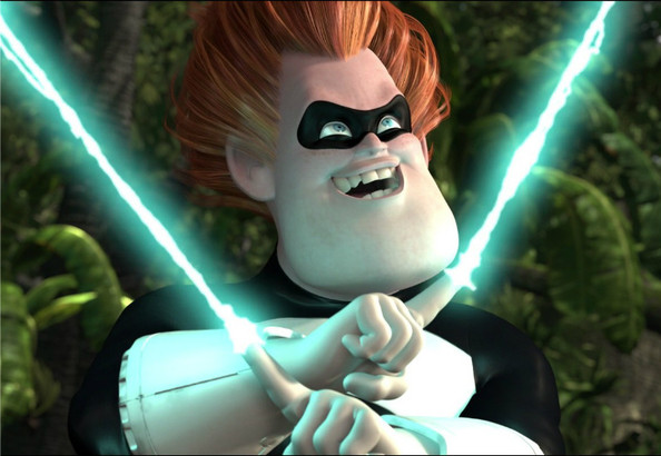Syndrome The Incredibles The Most Electrifying Characters In Hollywood Zimbio