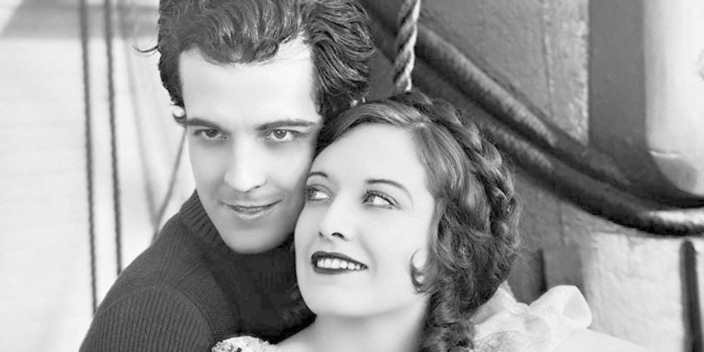 Ramon Novarro in 'Across to Singapore.'