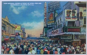 Atlantic City Then and Now