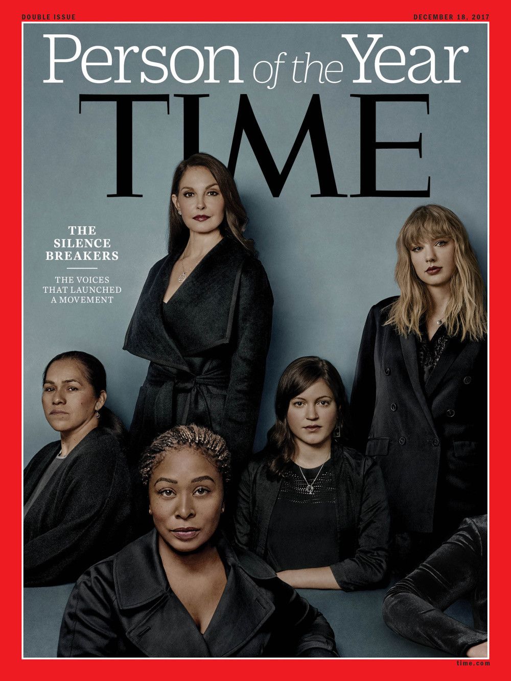 'TIME' Names the #MeToo 'Silence Breakers' as Person of the Year 2017