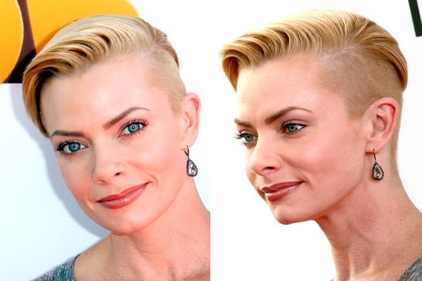 Jaime Pressly Joins the Celebrity Undercut Club