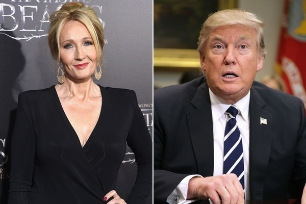 J.K. Rowling Went on a Twitter Storm Against the Travel Ban