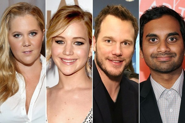 New Squad Alert! Jennifer Lawrence, Amy Schumer, Chris Pratt, and Aziz Ansari Are Having a Blast Together