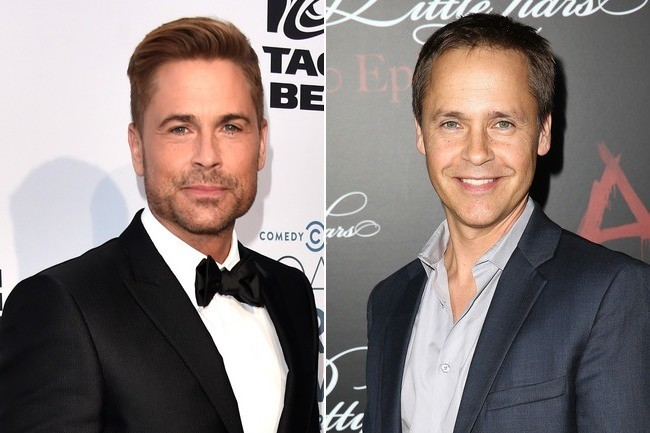 Rob Lowe and Chad Lowe - Celebrities You Didn't Know Were ...