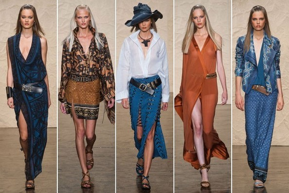 Donna Karan Spring 2014 Fashion Show - The Ultimate Jet-Setter's Wardrobe