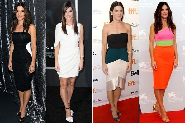 We're Loving Sandra Bullock's Red Hot, Red Carpet Streak