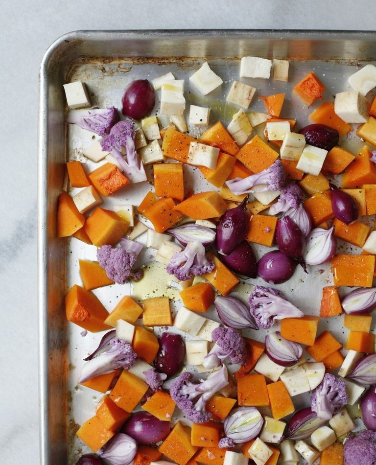 Diana Yen's Roasted Winter Salad | Lonny.com