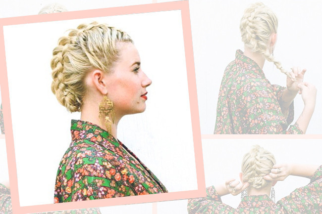 DIY This Braided Fauxhawk