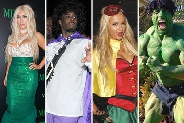 The Best Celebrity Halloween Costumes of 2012
