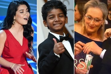 The Most Awkward & Hilarious Oscar Moments of 2017