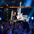 Clarence+Clemons in Super Bowl XLII Halftime Show - From zimbio.com