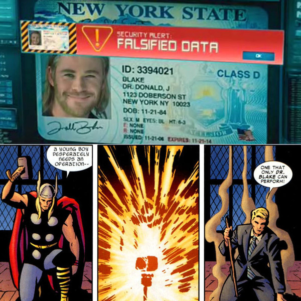 Marvel's Zimbio Alter Closer A Easter - Ego Eggs Look At Thor's Many