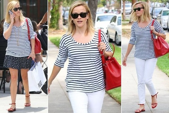 Reese Witherspoon's Summery Striped Top Can Be Yours for $54