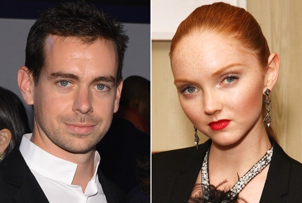 Model Lily Cole is Dating Twitter Founder Jack Dorsey