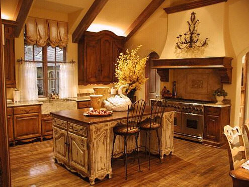 Quaint in the country charming cottage style kitchens for Quaint kitchen designs