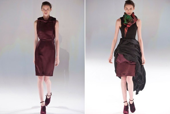 Hussein Chalayan's Shape-Shifting Dresses, in GIF Form