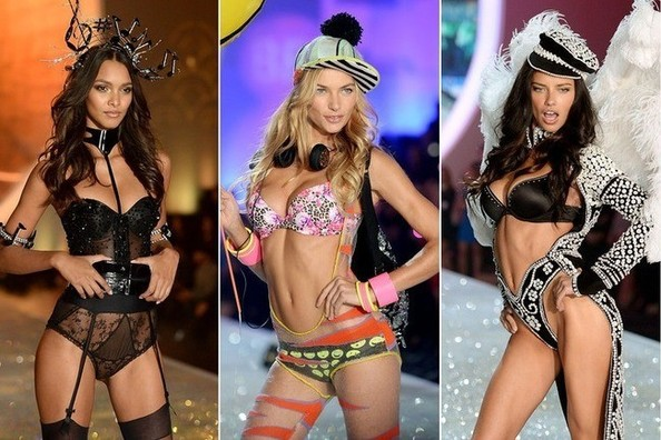 The Ridiculous Headwear from the Victoria's Secret Fashion Show