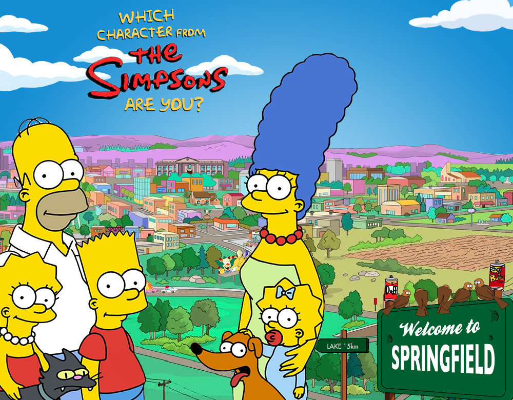 which simpsons character are you quiz zimbio