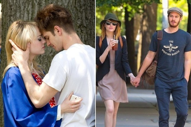 Emma Stone and Andrew ... Andrew Garfield Married