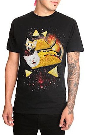 These Tees Combine Our Two Favorite Things - Cats and Food