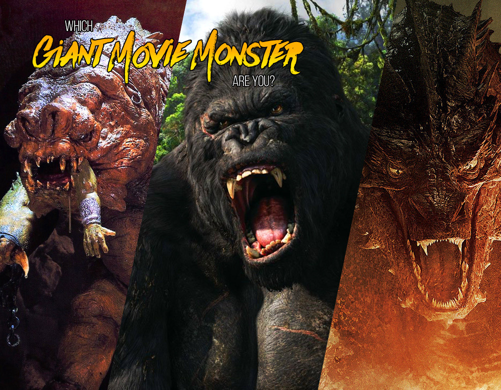 which giant movie monster are you quiz zimbio