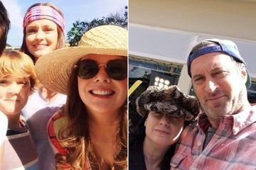 These Photos from the Set of the 'Gilmore Girls' Revival Will Make You Weep