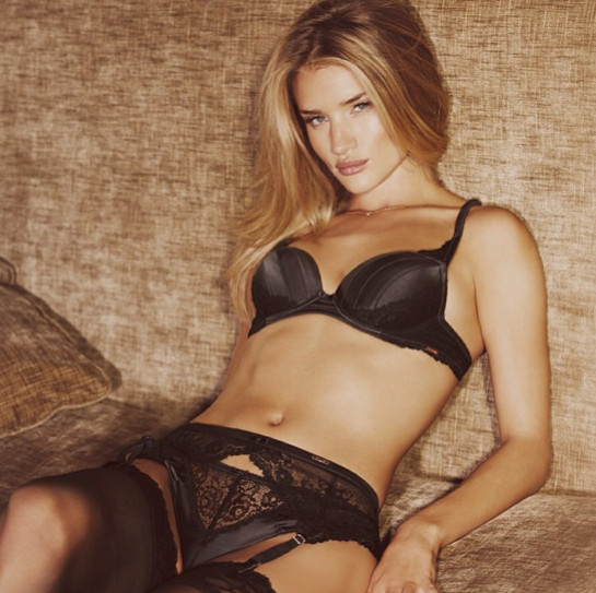 Rosie Huntington-Whiteley landed another lingerie modeling gig. Good ... Disney Princesses In Lingerie