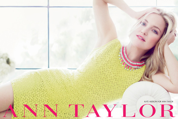Kate Hudson, Fashion Designer? Sure, Why Not, Says Ann Taylor