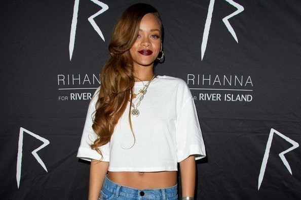 Rihanna's New River Island Collection Includes Shirts with Her Face on Them [VIDEO]