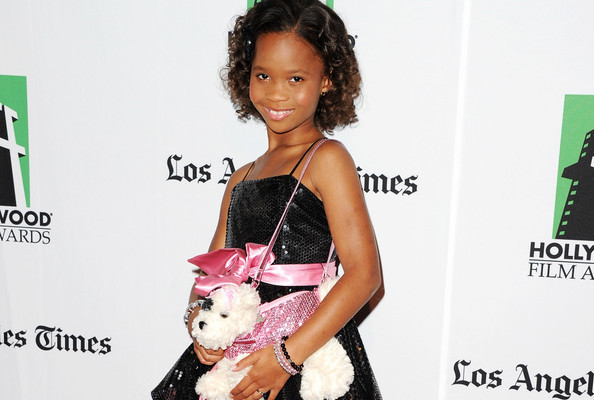 Quvenzhané Wallis Has 20 Puppy Purses [VIDEO]