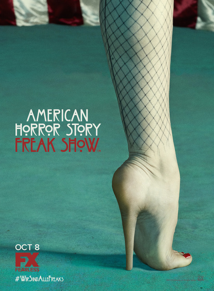 Ranking the 'American Horror Story: Freak Show' Posters from Least to Most Creepy