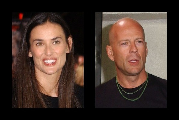 Demi Moore was married to Bruce Willis
