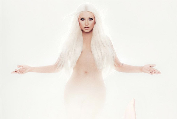 Christina Aguilera & 11 Other Artists with Naked Album Covers