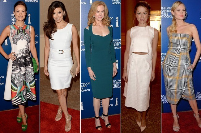 Vote! Who Had the Best Luncheon Look?