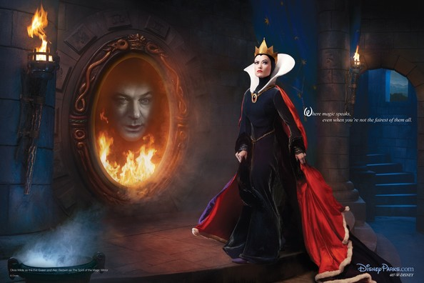 = Real-Life Evil Queen and Magic Mirror